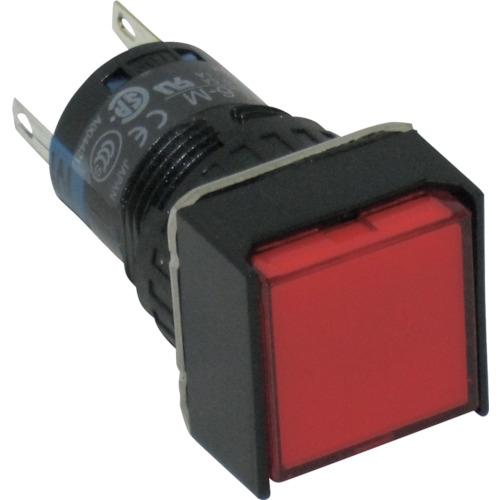 IDEC IDEC φ16正角形照光押しボタンスイッチ AL6QM14R