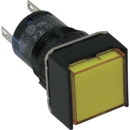 IDEC IDEC φ16正角形照光押しボタンスイッチ AL6QM14Y