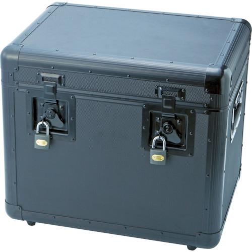 トラスコ中山 TRUSCO 万能アルミ保管箱 黒 480X360X410 TAC480BK