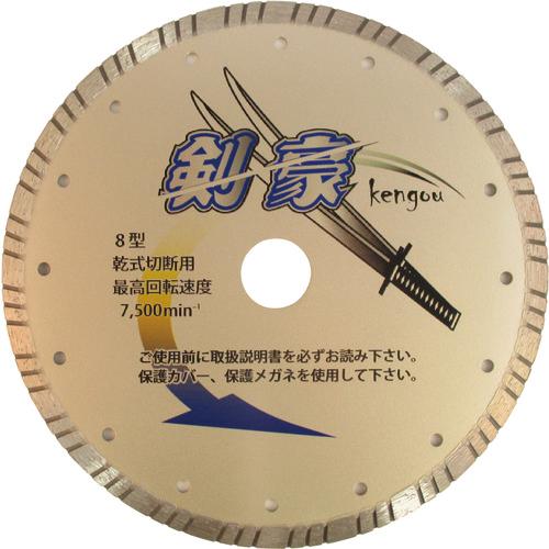 三京ダイヤモンド工業 三京 剣豪 203×2.1×8.0×25.4 RZK8