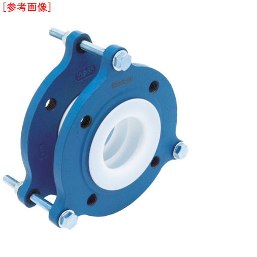 ゼンシン ゼンシン フッ素樹脂製防振継手(フランジ型) ZTF500040