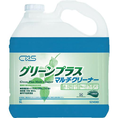 ディバーシー合同会社 シーバイエス 洗浄剤 グリーンプラスマルチクリーナー 5L 5214340