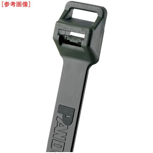 パンドウイットコーポレーション パンドウイット ナイロン結束バンド 耐候性黒(100本入)幅12.7 厚さ1.9 PLT6EHC0