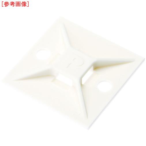 パンドウイットコーポレーション パンドウイット マウントベース M3ねじ止め 白 (500個入) ABM112S6D