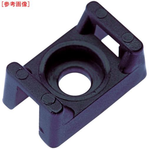 パンドウイットコーポレーション パンドウイット タイマウント 耐候性黒 (1000個入) TM2S8M0