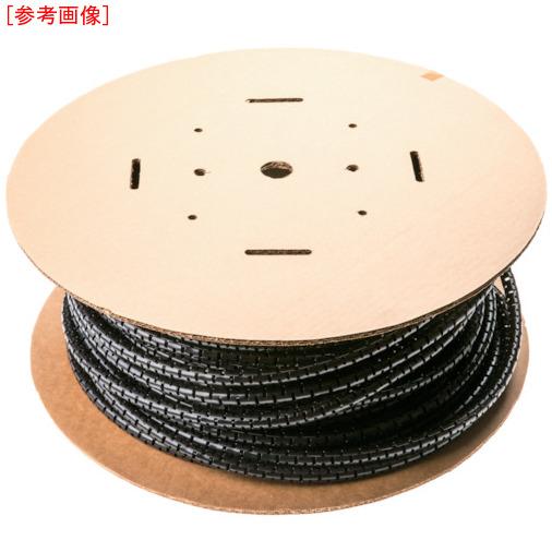 パンドウイットコーポレーション パンドウイット 電線保護材 パンラップ 黒 PW100FC20