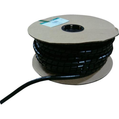 パンドウイットコーポレーション パンドウイット スパイラルラッピング 耐候性ポリプロピレン 黒 T38PC0