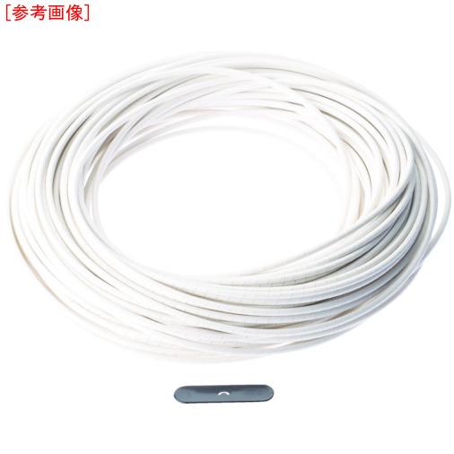 パンドウイットコーポレーション パンドウイット スパイラルラッピング 難燃性ポリエチレン(UL94V-2) 白 T50RCY