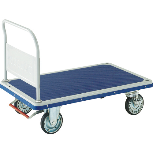 トラスコ中山 TRUSCO プレス製台車 ドンキーカート 固定式1225×775 ピン式4輪S付 502NJKB4