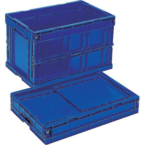 岐阜プラスチック工業 リス 折りたたみコンテナCB-S175C ダークブルー CBS175C-8123DB