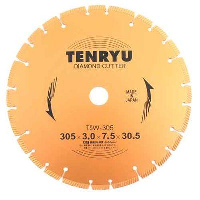 TENRYU ダイヤモンドカッター 乾式用 305X3.0X30.5 4977292303972【納期目安:9/下旬入荷予定】