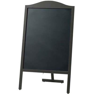 その他 マーカー用 山型スタンド黒板(片面)YBD90-1 EBM-0034830