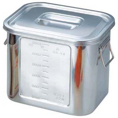 その他 BK 18-8 角型 キッチンポット 目盛付 26型 手付 EBM-0039500