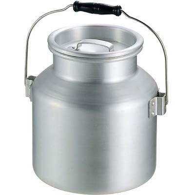 その他 アルミ スープ運搬缶 中(φ240×H250)9L EBM-0055400