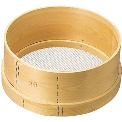 その他 木枠 ステン張 パン粉フルイ 尺2(36)6.5メッシュ EBM-0455400