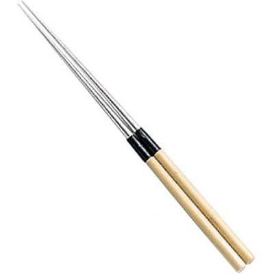 その他 白木柄 盛箸(水牛桂付)15 EBM-0580500