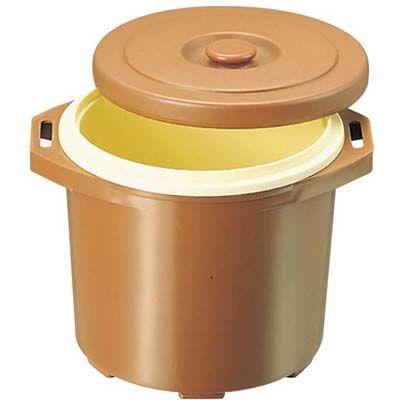 その他 プラスチック 保温食缶 ごはん用 DF-R1 大 D/B EBM-0821900