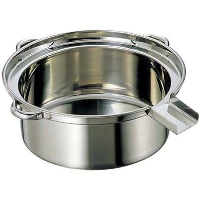 その他 EBM 18-8 ゆで麺鍋 小(φ475)A・Bタイプ EBM-0867100