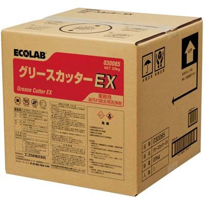 その他 油汚れ用洗浄剤 グリースカッターEX 20 EBM-4290820