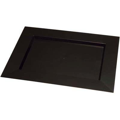 その他 ソリア ディアマンテプレート(25入)ブラック PS30503 400×300 EBM-5135600
