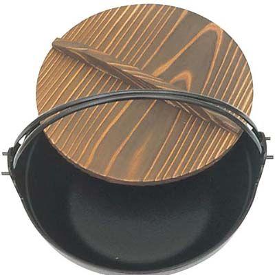 その他 南部 鉄 ふる里鍋 黒塗り 26 電磁用 21110 EBM-6618700
