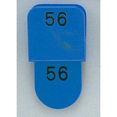 その他 クロークチケット KF969 51~100 ブルー(CT-3 POY0309
