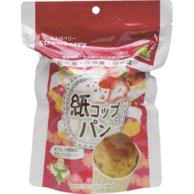 東京ファインフーズ 紙コップパン ストロベリー 95g*30コ入 4560475120024【納期目安:2週間】