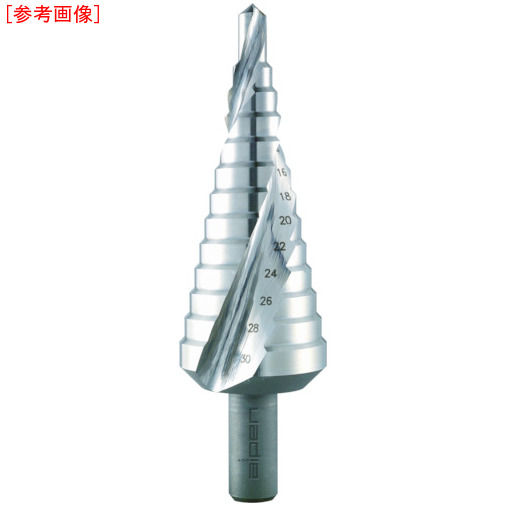 ALPEN社 ALPEN 2枚刃スパイラルステップドリル 37mm ハイス 72200729