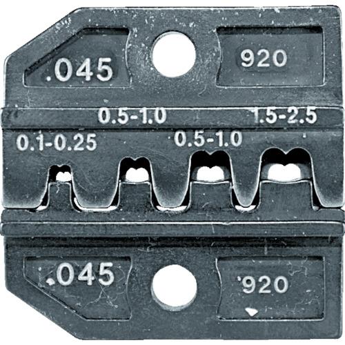 RENNSTEIG社 RENNSTEIG 圧着ダイス 624-045 オープンバレル平端子0.1-2. 62404530