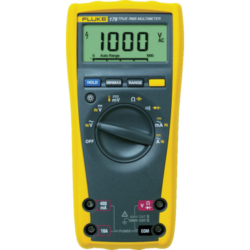 TFF フルーク社 FLUKE デジタル・マルチメーター(真の実効値・バックライト仕様) 179