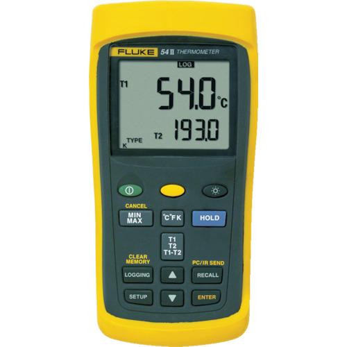 TFF フルーク社 FLUKE 温度計(ロガー機能付・2チャンネル) 542B