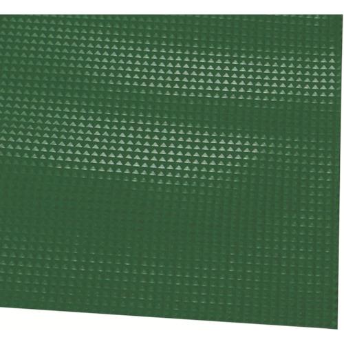 ミヅシマ工業 ミヅシマ ビニール長マット ピラミッド 910mmX20M 緑 4110320