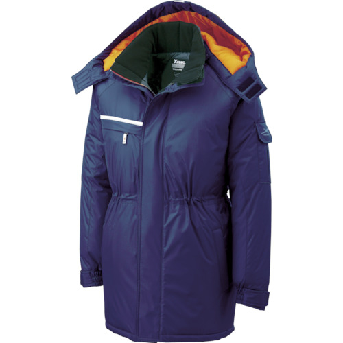 ジーベック ジーベック 581581防水防寒コート 紺 L 58110L