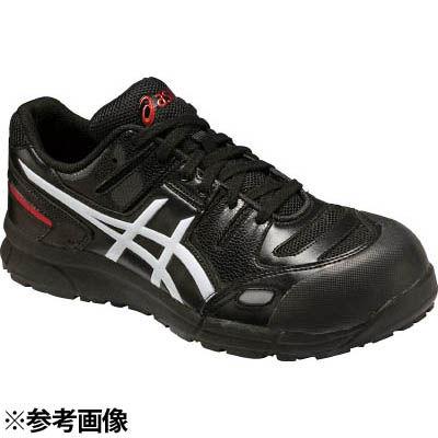 アシックスジャパン アシックスウィンジョブ安全靴CP103 BK×ホワイト 24.5 SSN0802
