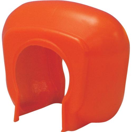 トラスコ中山 TRUSCO 単管クランプカバー  オレンジ (100個入) TTCKOR