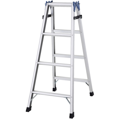 長谷川工業 ハセガワ アルミはしご兼用脚立 標準タイプ RD型 4段 RD12
