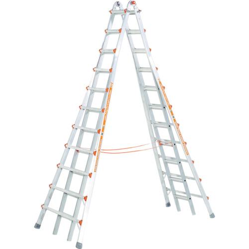 長谷川工業 ハセガワ アルミ合金製伸縮式長尺専用脚立 LG10121