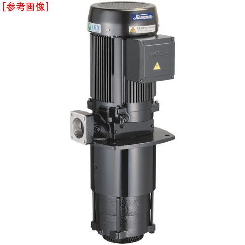川本製作所 川本 浸漬式多段クーラントポンプ RCD40AE2.2T4