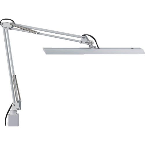 山田照明 LEDデスクライト Z-10N W ホワイト 明るさ2430Lx 連続調光 Z-10N-W