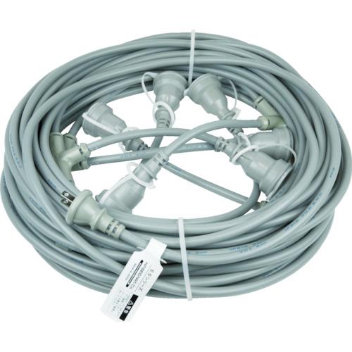 長谷川製作所 HASEGAWA 分岐ケーブル ESTCシリーズ 25m 防水コネクター ESTC25M225