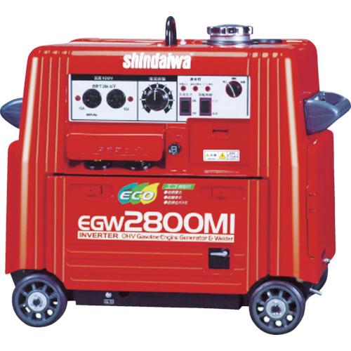 やまびこ 新ダイワ エンジン溶接機・兼発電機 135A EGW2800MI