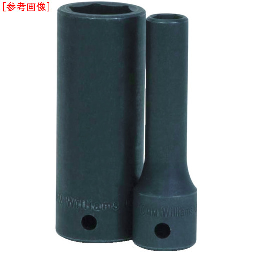 スナップオン・ツールズ WILLIAMS 1/2ドライブ ショートソケット 6角 34mm インパクト JHW4M634