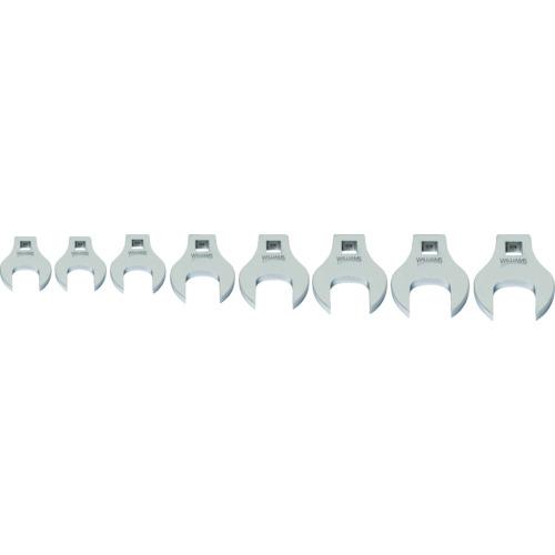 スナップオン・ツールズ WILLIAMS 3/8ドライブ クローフットレンチ セット(17~24mm) JHW10791