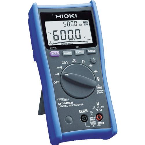 日置電機 HIOKI デジタルマルチメータ(ACクランプ対応) DT4255 DT4255