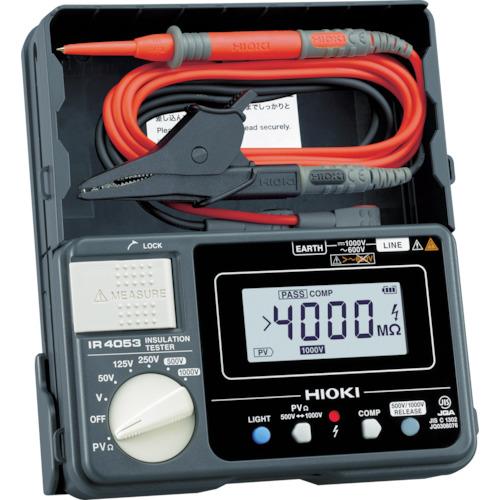 日置電機 HIOKI 太陽光発電システム用絶縁抵抗計IR4053-10 IR405310