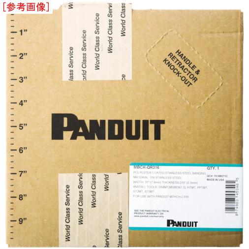 パンドウイットコーポレーション パンドウイット フルコーティング長尺ステンレスバンド SUS316 MBCSHQR316