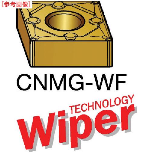 サンドビック 【10個セット】サンドビック T-Max P 旋削用ネガ・ワイパーチップ 1515 CNMG120404WF
