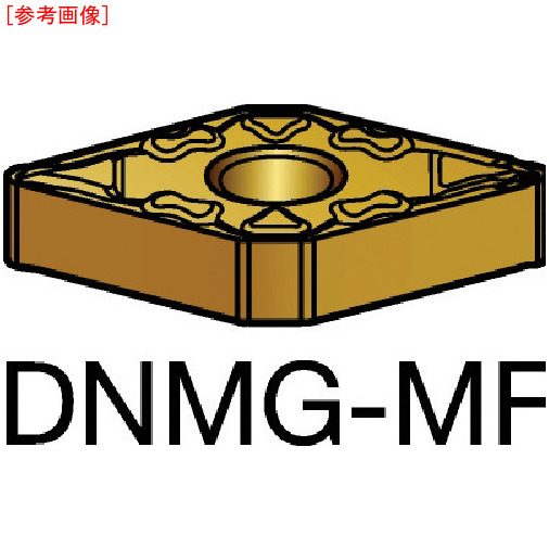 サンドビック 【10個セット】サンドビック T-Max P 旋削用ネガ・チップ 5015 DNMG110404MF
