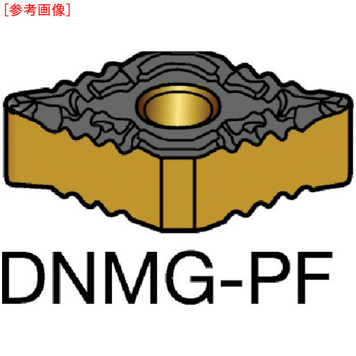 サンドビック 【10個セット】サンドビック T-Max P 旋削用ネガ・チップ 1525 DNMG110404PF-F87161525
