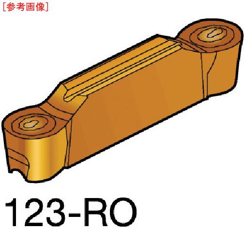 サンドビック 【10個セット】サンドビック コロカット2 突切り・溝入れチップ 1125 N123H20500RO